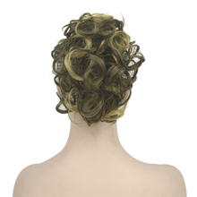 Hair-Extensions Ponytails Short False-Hair-On-Clips Synthetic-Hair Curly Clip-In Little