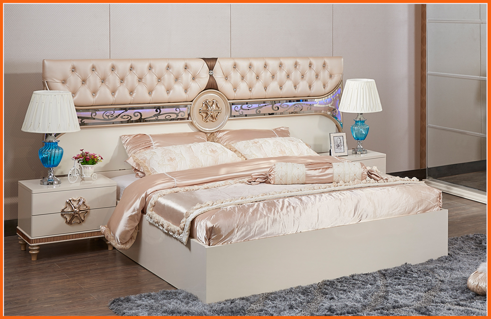 . US  1530 0 15  OFF 2018 Nightstand Free Wooden Shipping    Top Fashion  Modern Bedroom Set Furniture Good Quolity Promotion Cheap Price Bed Room in