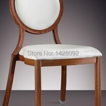 Круглая Спина woodgrain алюминиевый стул гостиницы LQ-L7814