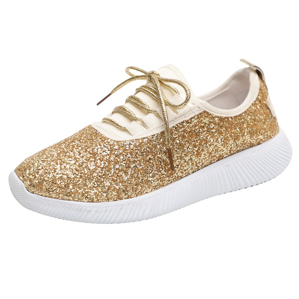 fashion Women Outdoor Sequined Cloth Casual Sport Shoes Runing Breathable balenciagas shoes loafers tenis feminino fenty beauty