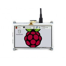 Modules RPi 4.3inch HDMI LCD Resistive Touch Screen 480 *272 Designed for all Revision of Raspberry Pi with Back light control