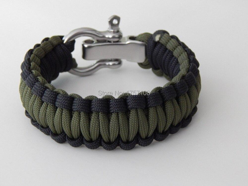 2019 meilleurs la meilleure attitude comment choisir €23.81  Bracelet paracorde 3 couleurs avec instructions de boucle torsion  avec bracelet de survie à manille S/S-in Wrap Bracelets from Bijoux et ...