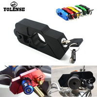 For Ducati Monster 696 797 848 1098 821 Motorcycle Handlebar Lock Scooter Brake Clutch Security Safety Theft Protection Locks
