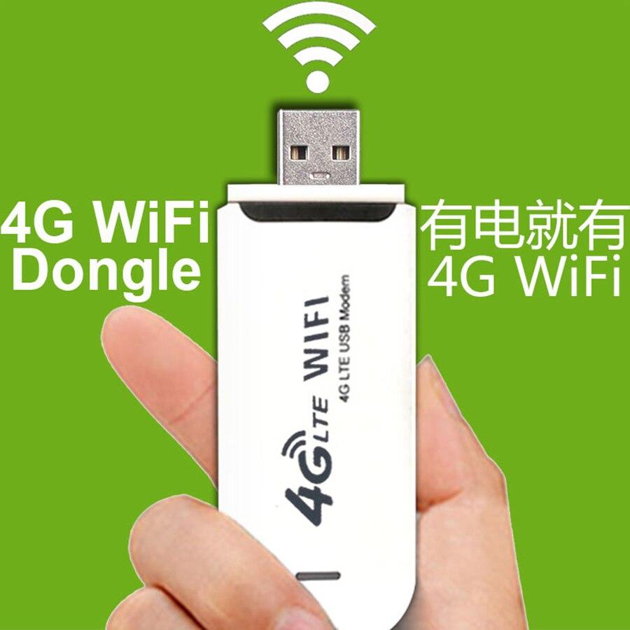 Dongle 150 M 4G Mobile WiFi carte SIM sans fil réseau USB pour Android DVD bureau ordinateur portable Ipad universel Dvd voiture