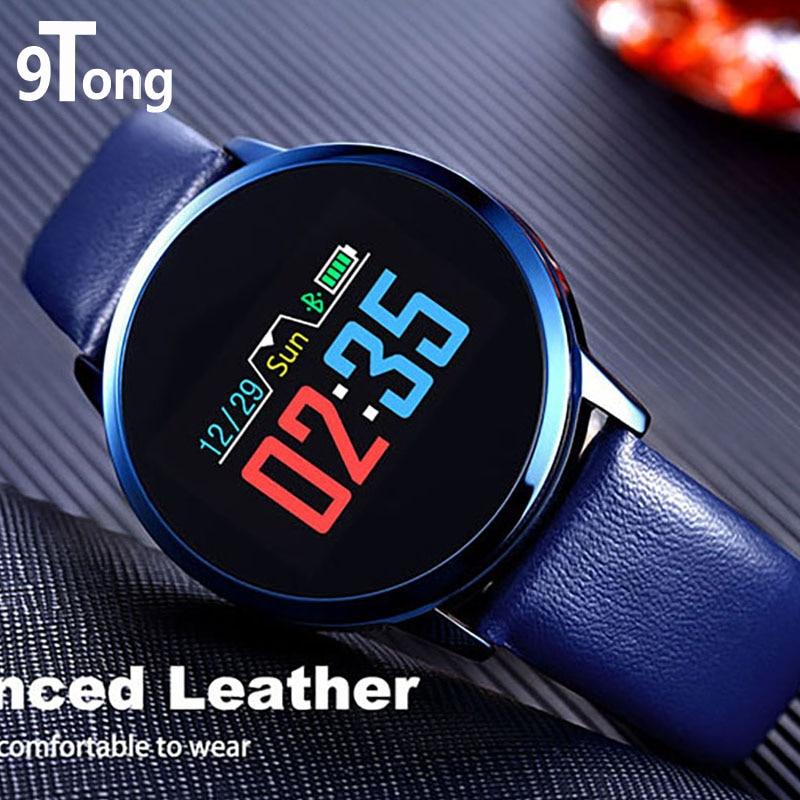 цена на 9Tong Slim Smartwatch Fitness Tracker Waterproof Smart Watch Heart Rate Blood Pressure Monitor Smartwatches Rel Gio Inteligente