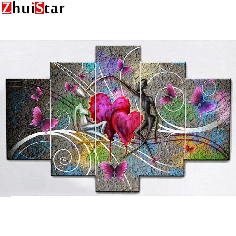 Zhui Star 5D DIY Pintura Diamante Cuadrado Completo