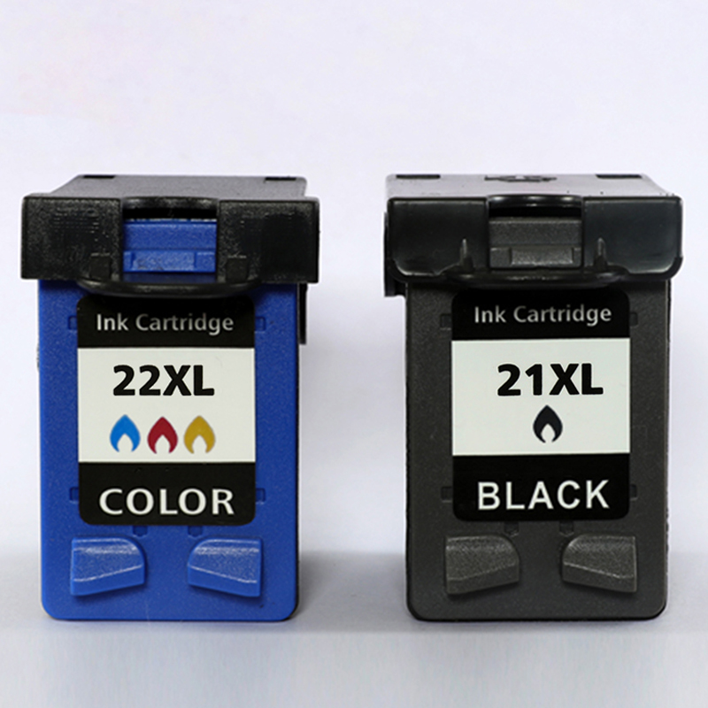 Xiangyu Refilled Ink Cartridge Replacement 21 22XL for hp 21 22 cartridge for Deskjet 3915 3920 D1320 F2100 F2280 F4180