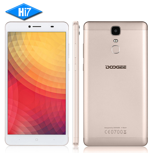 "NEW DOOGEE Y6 Max 3D/ Y6 Max Mobile Phone MTK6750 Octa Core 3GB 32GB Android 6.0 13.0MP 6.5"" Fingerprint ID 4G Dual SIM 4300mAh"
