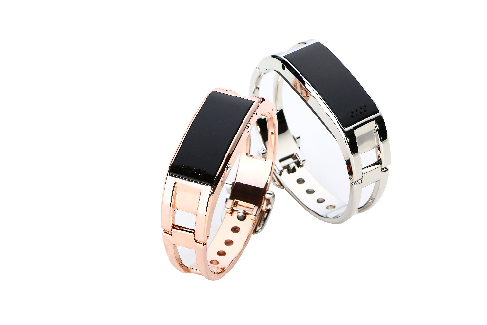 Luxury Fashion Women Bracelet D8 Bluetooth Smart Watch Smartband Bracelet for An