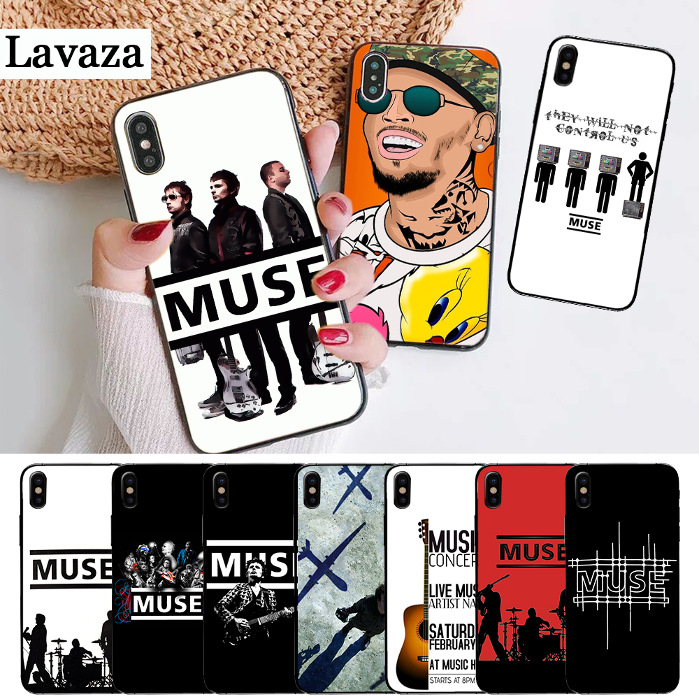 Muse Band Lyrics Music Songs Silicone Case for iPhone 5 5S 6 6S Plus 7 8 11 Pro X XS Max XR image