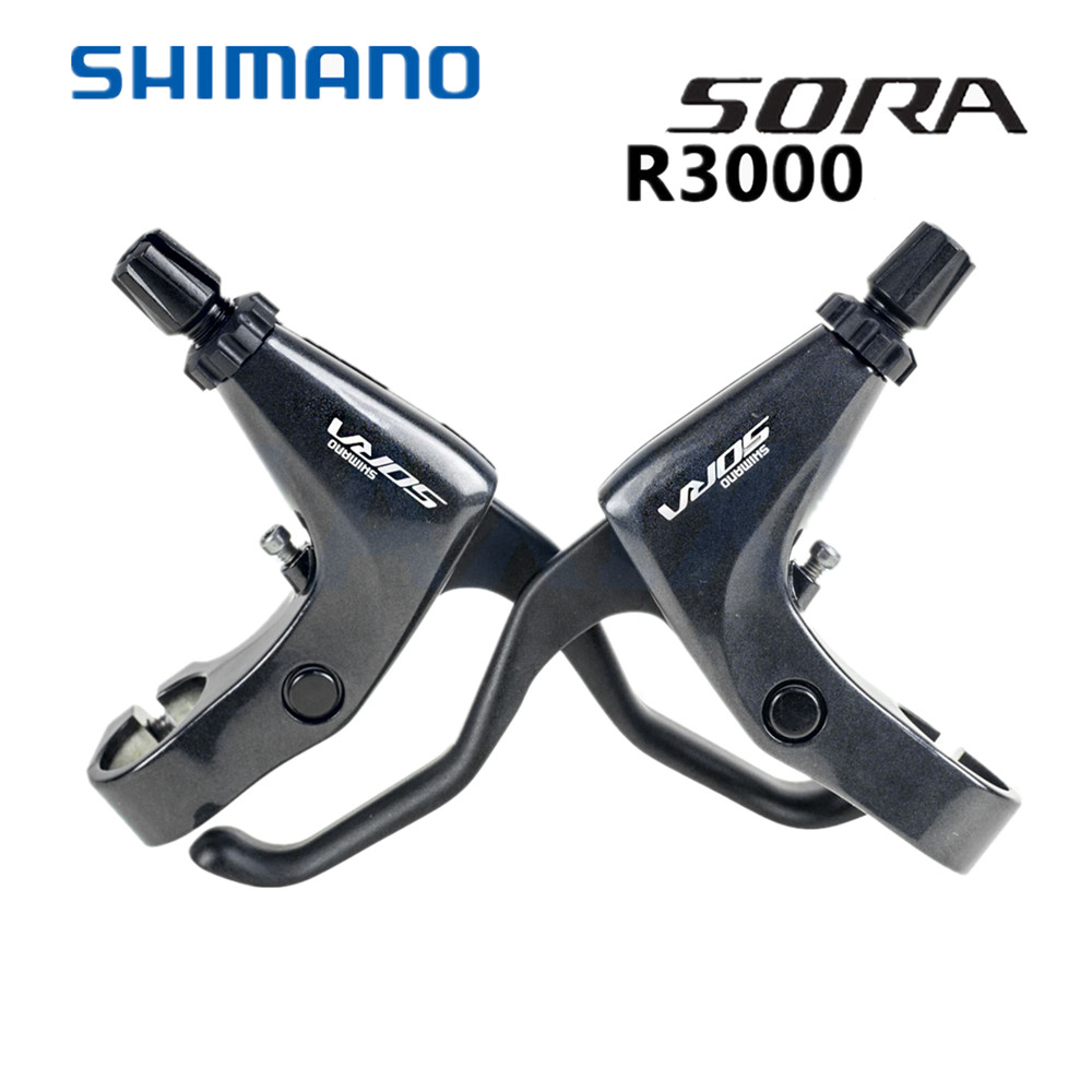 gauche Nouveau Shimano Sora SL-R3000 Vélo de route plat shifters manettes 2x9-vitesse droit