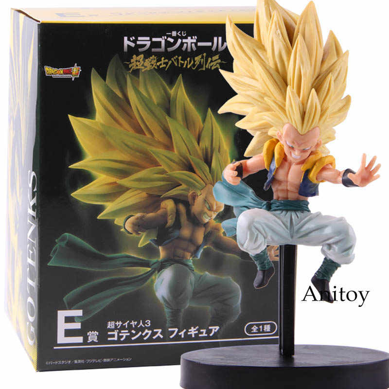 Anime Dragon Ball Super Saiyan Gotenks Action Figure Collectible Modelo Toy Presente
