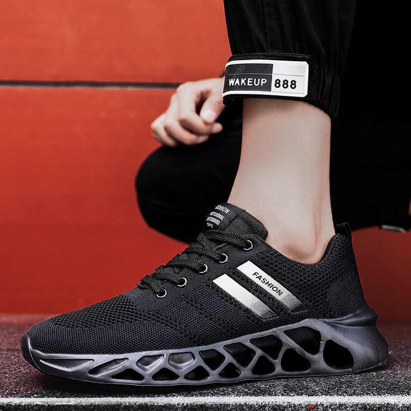 YRRFUOT Hoge Kwaliteit Originele mannen Casual Schoenen Comfortabele Ademende Fashion Sneakers Mannen Schoenen Trend antislip Wandelschoenen