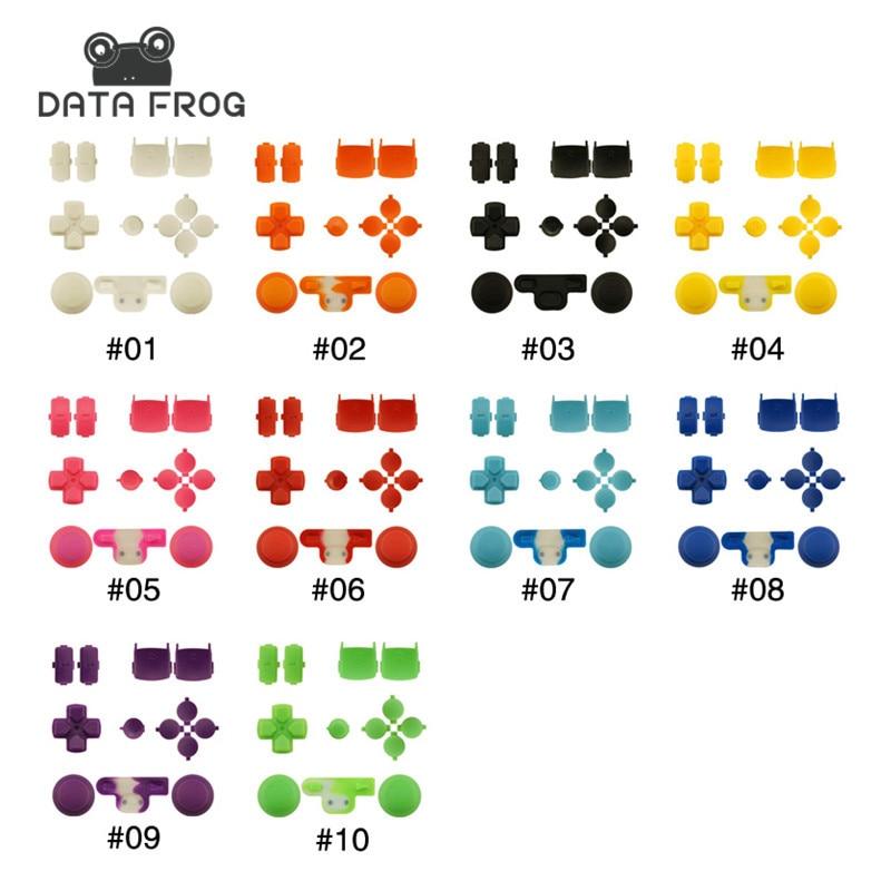Brugerdefinerede 11 farver Udskiftningsknapper til Sony Playstation 3 Dualshock 3 PS3 Controller Tumbler L1 R1 L2 R2 udløser dpad