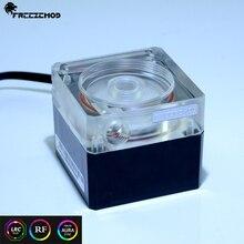 Бесшумный насос с водяным охлаждением FREEZEMOD для компьютера с поддержкой потока 4 метра RGB AURA. PU-FS6-J