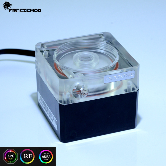 Methodical Freeze Mod Computer Water-cooled Mute Pump With 3.5 Meter Flow Support Rgb Aura Pu-fs6-j Pure And Mild Flavor Computer & Office Fans & Cooling
