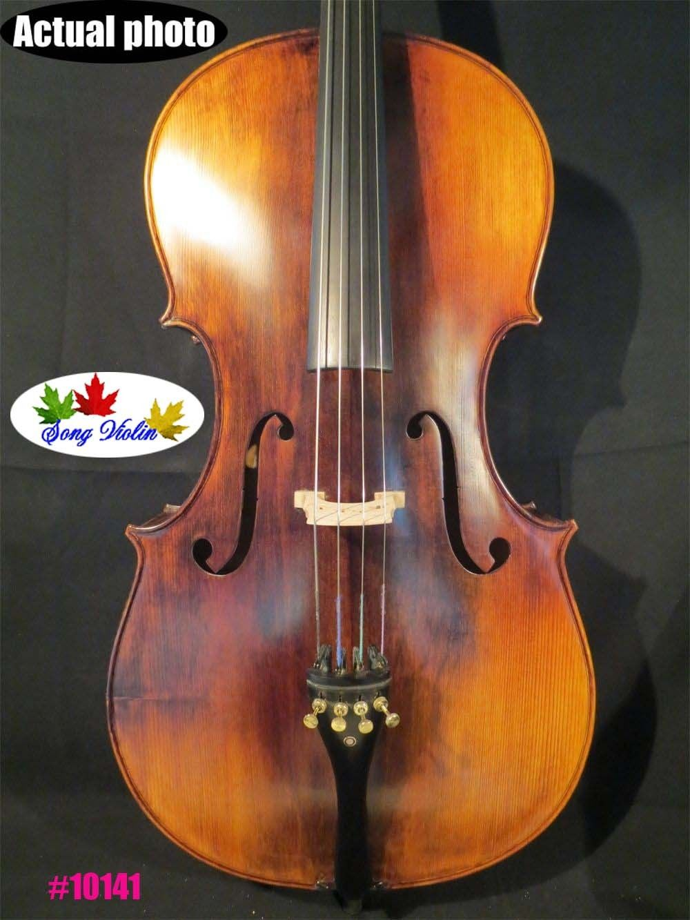 Strad Style SONG Brand Maestro 3/4 Cello,huge And Powerful Sound #10141