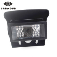 New Car Rear View Camera Bus HD CCD Reverse Backup Camera Rearview Parking 24 IR Nightvision