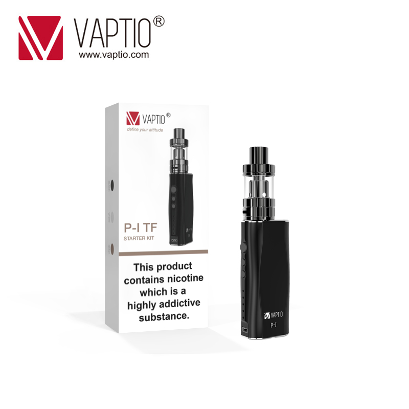 Vape PEN Electronic Cigarette Vapito P1 TF KIT 50W vaporizer kit 2100mah box mod P1 kit vape pen Top Filling 2mL vaporizer pen