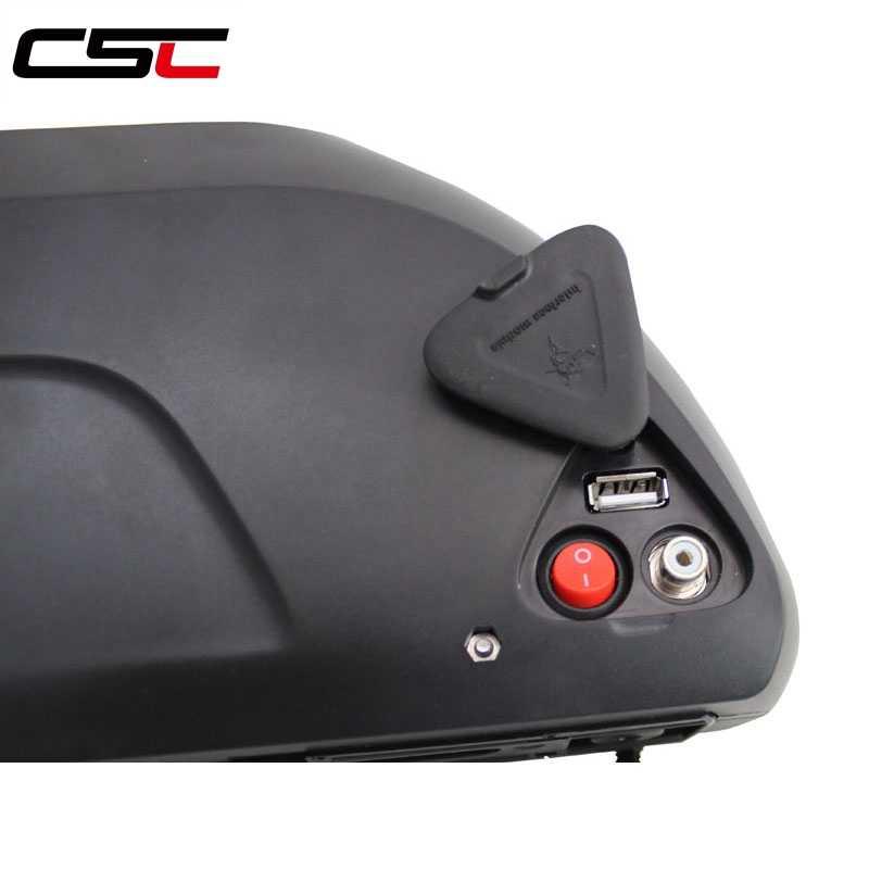 Schip uit Europa 1500 w Motor wiel Panasonic Mobiele Elektrische fiets Lithium Batterij met 5A Charger 14.5AH 48 v Batterij