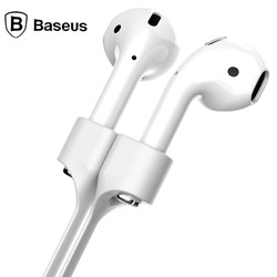 Baseus 자기 스트랩 Airpods 블루투스 이어폰 실리콘 안티 손실 스트랩 루프 문자열 로프 공기 포드 헤드셋