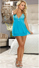 Exotic Apparel Sexy Lingerie Women Baby Dolls Sex Lace Sling Sleepwear Underwear For Hot Girls Z106