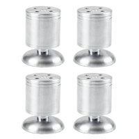4Pcs/set Adjustable Cabinet Legs Stainless Steel TV Cabinet Cabinet Feet Foot Foot Sofa Furniture Foot Pad Thickening Leg