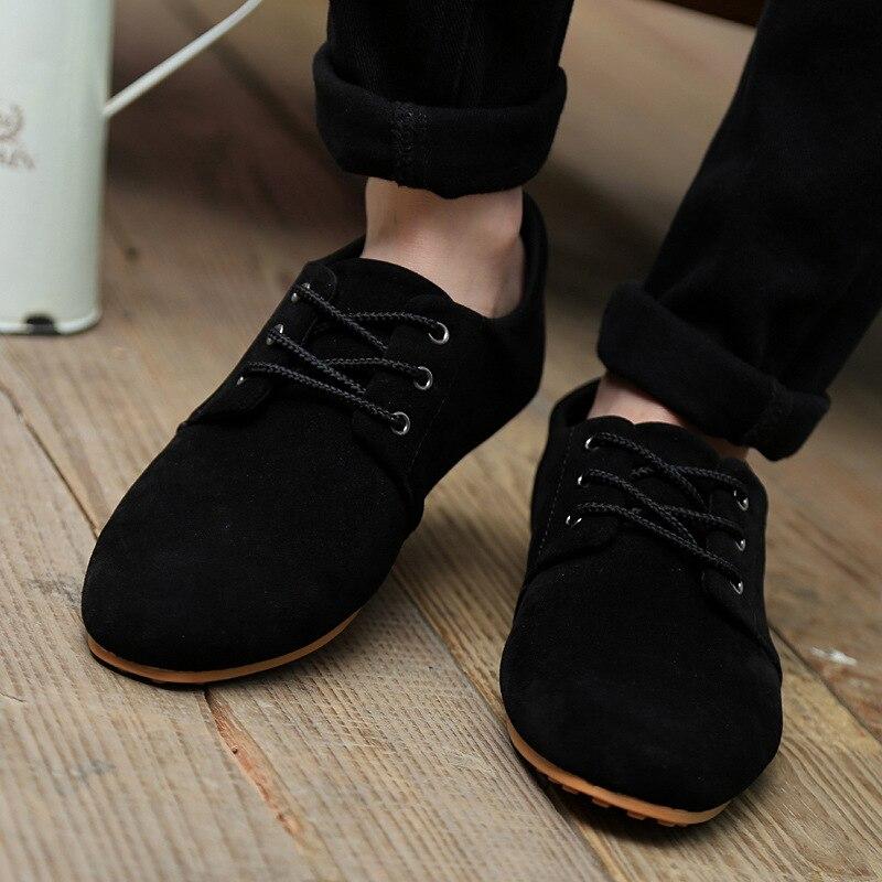 blue La Chaussures Black Rétro Hommes Low Jeunesse brown Casual Sapato Cut Petit Suede Ag483 De Masculino Mode pRHHFwWqZ