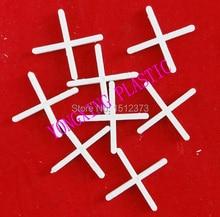 200pcs/bag 2mm plastic cross/ tice spacer/tracker/locating/ceramic cross with handle white color locate the ceramic tile