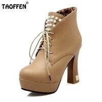 Merk Rome Klinknagels Fashion Hoge Hakken Laarzen Sexy Dames Platform Schoenen Zapatos Mujer Rits Korte Vrouw Laarzen Maat 33-43