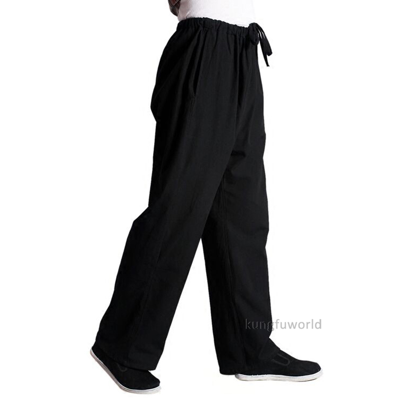Cotton Kung Fu Tai Chi Pants Martial Arts Wushu Wing Chun Trousers