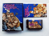 MD Game : Crude Buster ( Japan Version!! box+manual+cartridge!! )