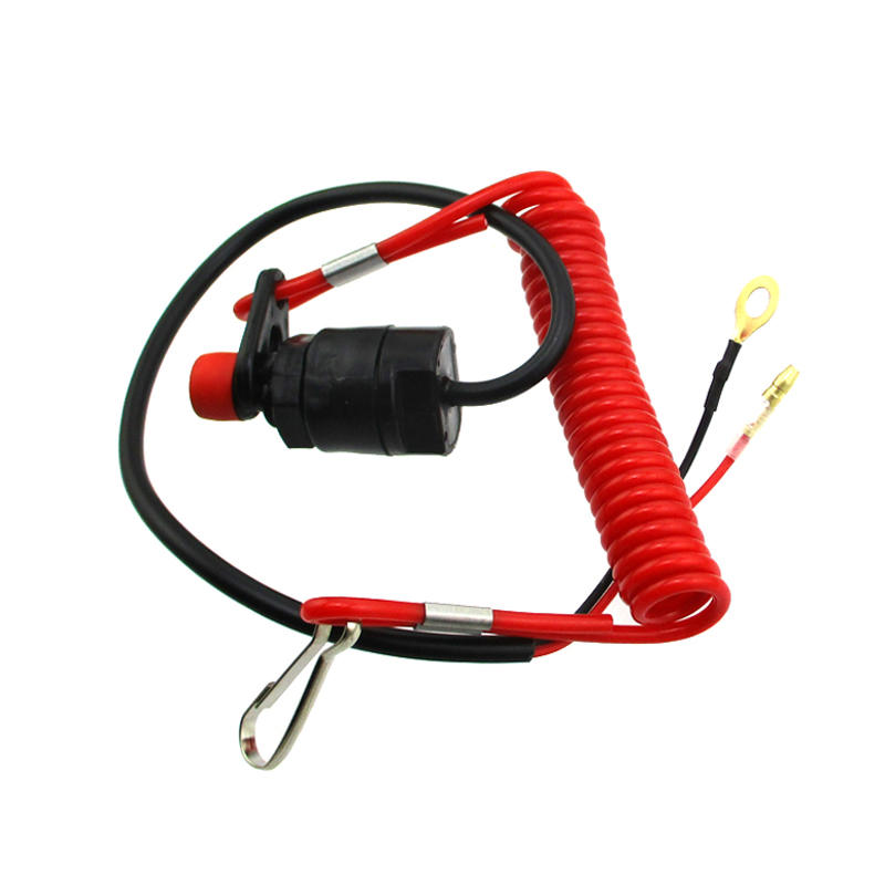 Universal Boat Outboard Engine Motor Kill Stop Switch /& Safety Tether Lanyard~SR