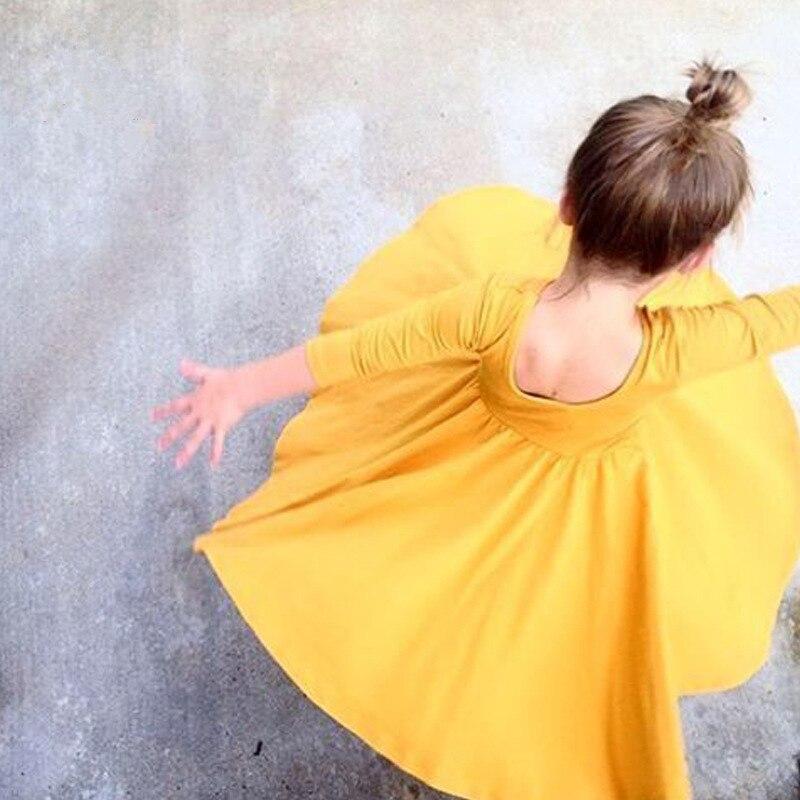 2017 Autumn Girls font b Dress b font Cotton Princess Style Infant font b Dresses b
