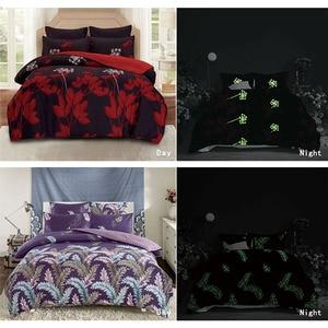 Image 4 - Alanna kraliçe nevresim takımı aydınlık yorgan euro pastel levhalar yatak çarşafı kral çift kişilik yatak örtüsü yatak örtüsü seti