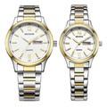 (MESHOR) fashion leisure steel watch with a quartz couples MS.5019M.36.126 /  MS.5019L.36.126