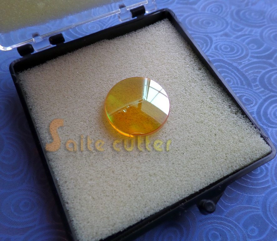CVD ZnSe Focal Lens for CO2 Laser Cutting Engraving Machine Dia 18mm FL: 50.8mm 3 pcs dia 25mm si reflection mirrors 1 pc znse focal lens dia 20 focal 63 5mm 2 5 for co2 laser engraving cutting machine