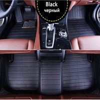 Custom Car Floor Mats For Ford Escort Fiesta Mondeo Focus Fiesta Edge Explorer Taurus S MAX