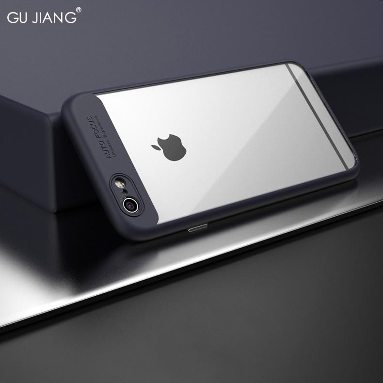 Angepasste Hüllen Handys & Telekommunikation Ernst Gu Jiang Marke Luxus Dünner Silikon Transparent Fall Für Iphone 6/6 S Und Iphone 6/6 S Plus Volle Schutzhülle Anti-scratch SpäTester Style-Online-Verkauf Von 2019 50%
