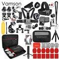 Комплект аксессуаров Vamson для Gopro для go pro hero 7 6 5 4 для eken h9 для SJCAM для DJI OSMO для xiaomi для yi 4k VS62