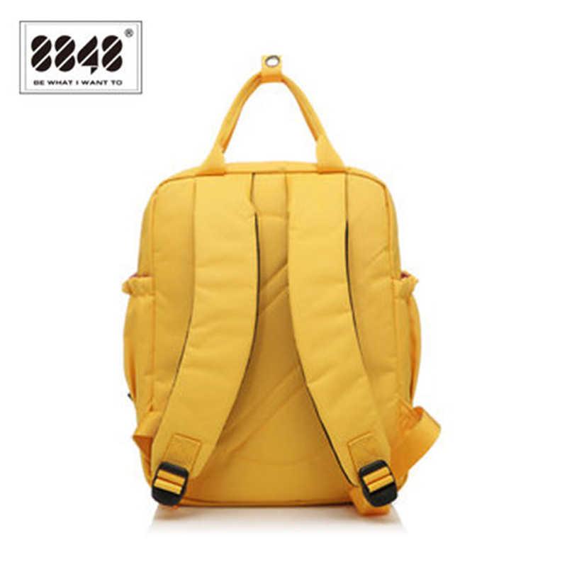 d77571372 ... 8848 Women's Backpacks Stylish Small Backpack for Teenager Girls School  Bag Female Canvas Rucksack Shoulder bag ...