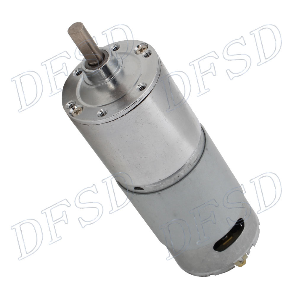 High torque dc 24v low speed 10 rpm electric motor gear for High torque high speed dc motor