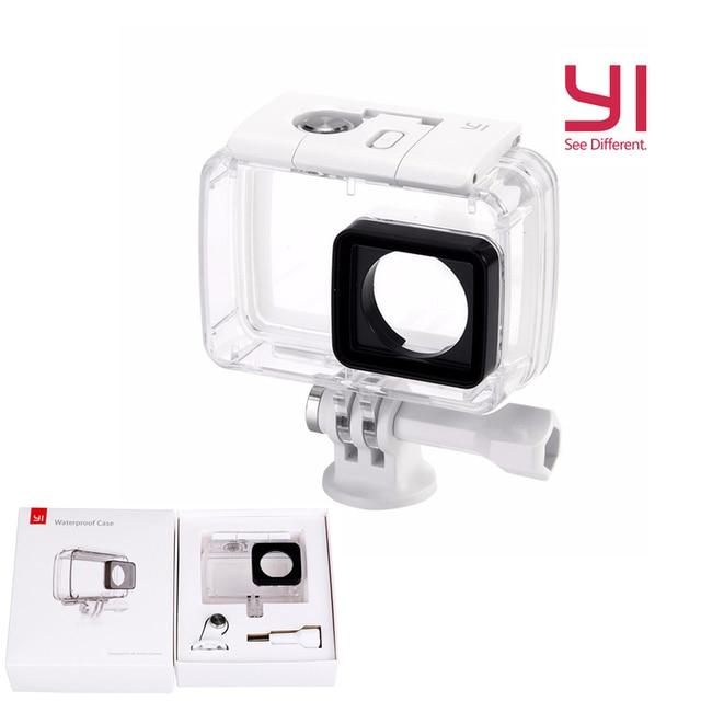 100% Оригинал xiaomi Yi Камеры Аксессуары и Запчасти Водонепроницаемый Чехол Дайвинг 40 м Водонепроницаемый для Xiaomi YI 4 K Действий Камеры 2
