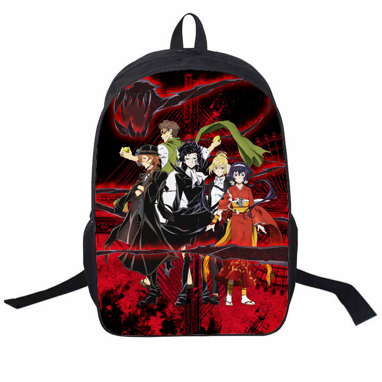 Anime Stray Dogs Cosplay Big Picture Printing Anime Men and Women Student Campus Leisure Bags Kids Birthday Gifts аксессуары для косплея cosplay