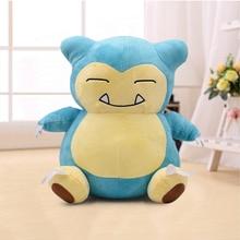 12 30cm XY Snorlax Plush Toys Anime New Big Soft Stuffed Animal Doll For Kids Christmas Gift