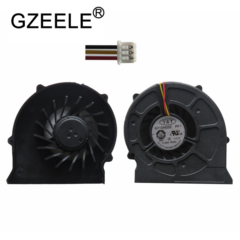 GZEELE New CPU Cooling Fan For <font><b>MSI</b></font> EX620 CR420 CR420MX CR600 <font><b>CX620MX</b></font> CX420 Series Laptop Notebook Cooler fans image