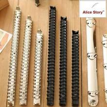 B5 A5 A6 A7 Loose leaf Spiral notebook metal clip ring binder DIY fill paper storage folder accessories