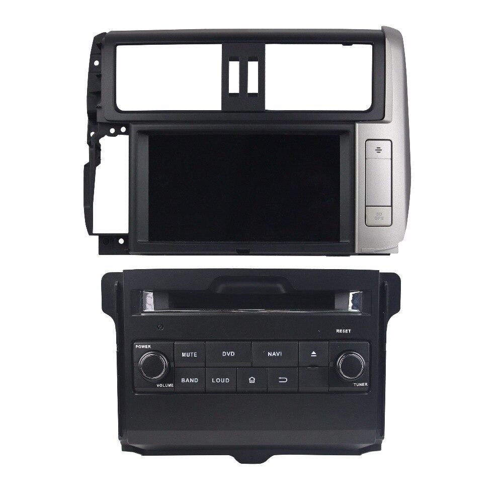 Android 8.0 octa núcleo LC150 4 gb de RAM dvd player do carro para TOYOTA PRADO 2010-2013 ips tela sensível ao toque unidades de cabeça gravador com gps
