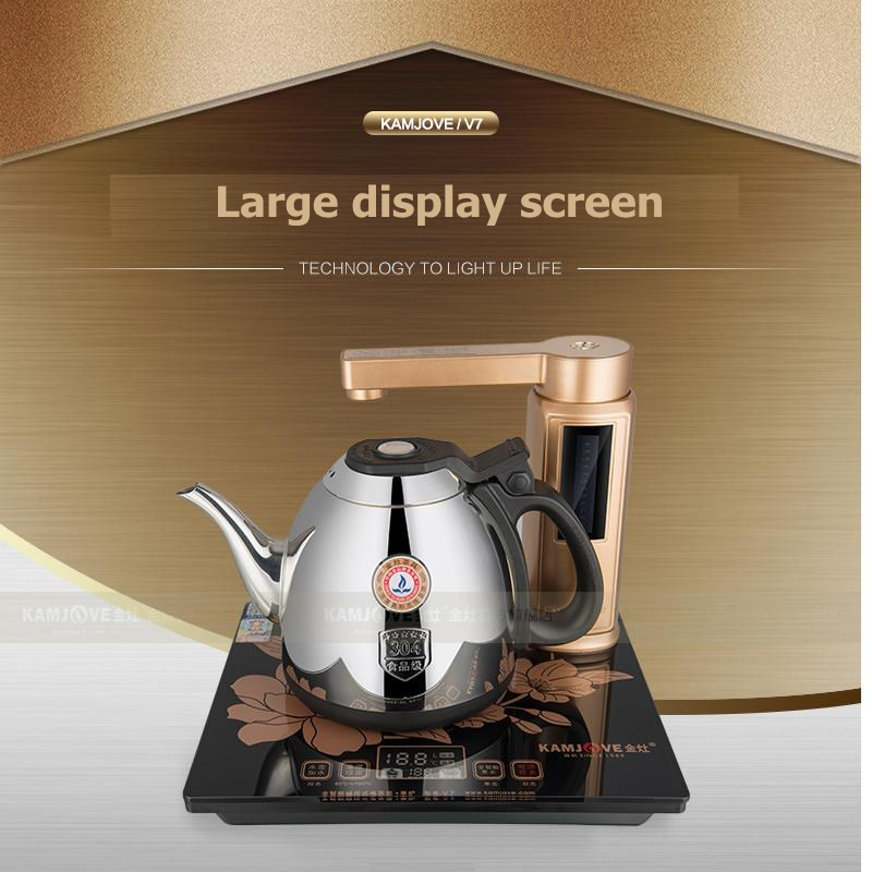 KAMJOVE V7 full intelligent automatic electric kettle 304 stainless steel automatic electric tea stove