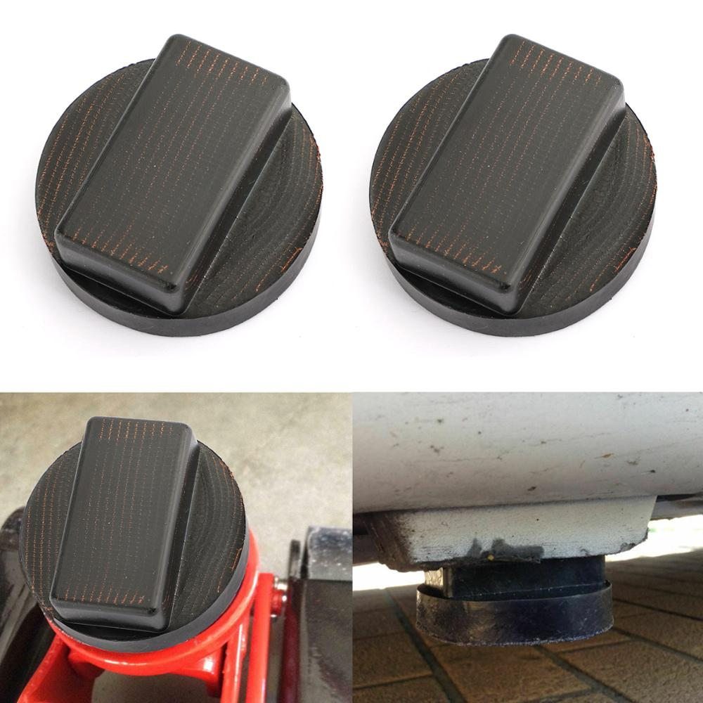 Areyourshop Rubber Jacking Point Jack Pads Adaptor Kit For BMW 3 4 5 Series E46 E90 E39 E60 Jacking Point Jack Pads Car Parts